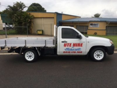 Mazda Tray Back Ute for Hire