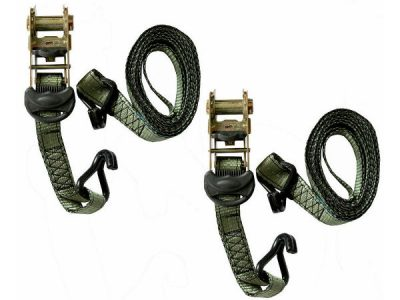 Heavy Duty Tie Down Ratchet Straps 32mm x 3.6m 530kg